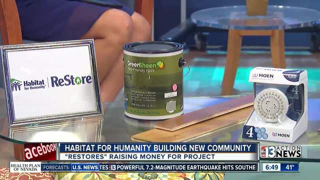 Habitat for Humanity -Restore- helping build new housing
