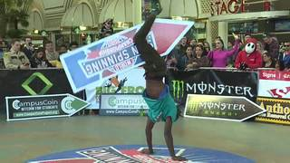 World Sign Spinning Championship held in Vegas