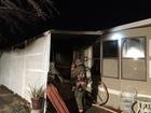 Firefighters battle 2 fires overnight