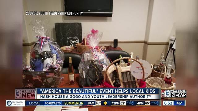 -America The Beautiful- dinner helping benefit Youth Leadership Authority