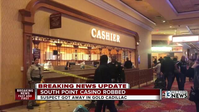 Man flees after robbing South Point Casino
