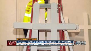 Las Vegas family wants to send crosses to FL