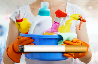 Cleaning could be as dangerous as smoking
