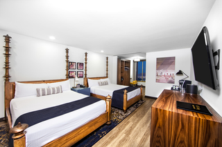 Downtown Vegas hotel rooms get new look