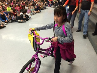 Nonprofit donates 200 bikes to local children