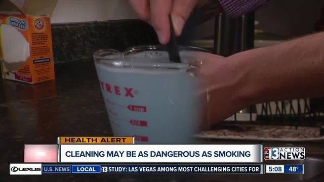 Cleaning Sprays May Cause Long-Term Lung Damage