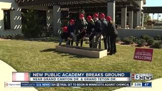 Groundbreaking for new school in NW Vegas
