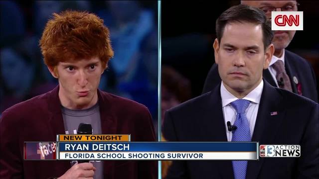 5 key moments as Florida school shooting survivors question senator