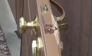 Burglars kick in doors of Henderson homes