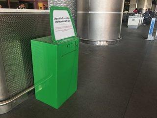 Marijuana amnesty boxes set up at Vegas airport