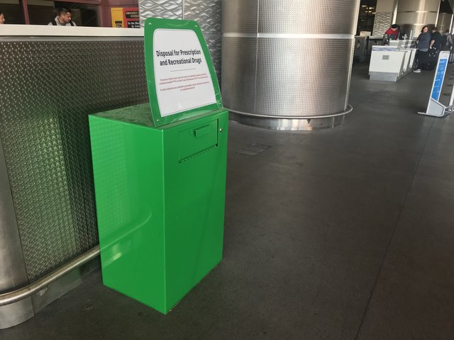 Image result for airport amnesty box