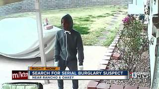 Police release picture of burglary suspect