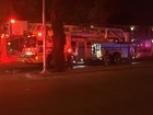 7 displaced in apartment fire Thursday night