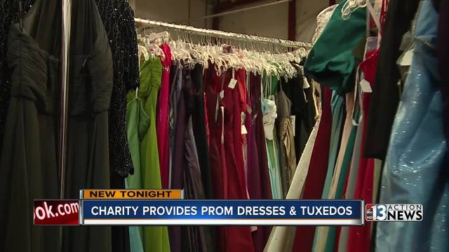 Las Vegas nonprofit provides prom dresses and tuxedos for free to ...