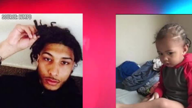 Child found, father sought after shooting