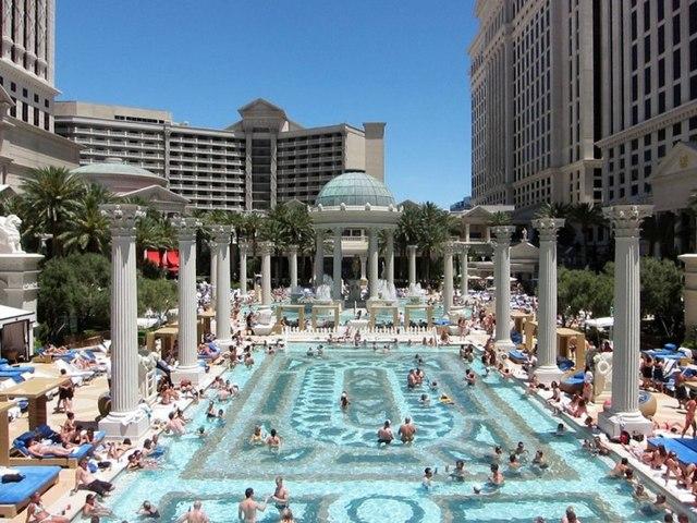 Pool season getting underway in las vegas las vegas - Planet hollywood las vegas swimming pool ...