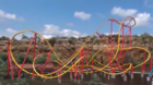 Wonder Woman roller coaster opens at Six Flags