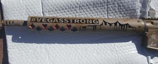 Police honor guard raffles 'Vegas Strong' guns