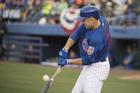 PHOTOS: Cubs battle the Indians at Cashman Field