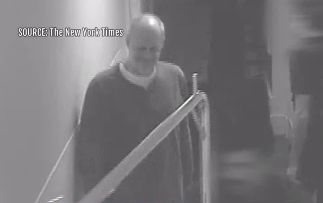 Video shows Paddock's actions in Mandalay Bay