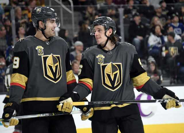 Golden Knights roster for 2018-19 season