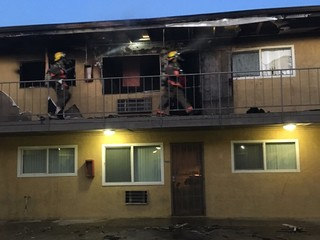 Fire reports show past problems at Vegas apts.