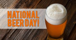 Celebrating National Beer Day in Las Vegas