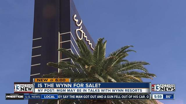 Wynn Shares Boosted Slightly by Possible Buyout by MGM