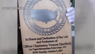 Officer killed during 1 October honored in D.C.
