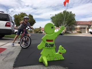 Las Vegas mom says HOA has 'no playing' rule