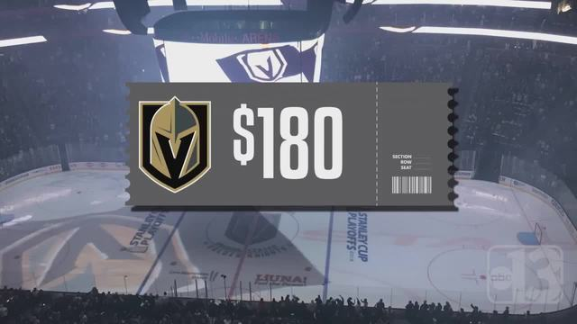 UPDATE- Golden Knights ticket prices increase for Game 2