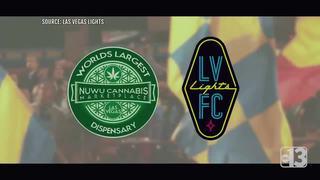 Las Vegas Lights partnering with dispensary