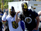 PHOTOS: Local fans show Golden Knights spirit