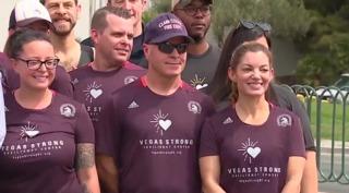 Vegas fire chief talks about running in marathon