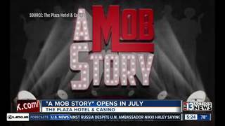 Tickets on sale for new show 'A Mob Story'