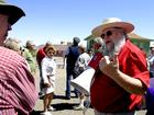 PHOTOS: Mark Hall-Patton leads museum tour