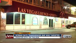 Victim in transgender bar shooting speaks out