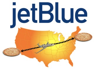 JetBlue says it will deliver NYC pizza to L.A.