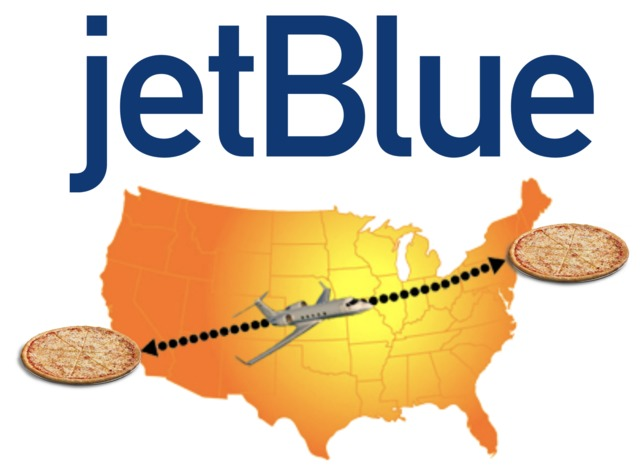 Pizza, Los Angeles? We'll Deliver Hot From NYC — JetBlue