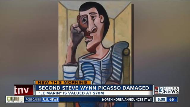Steve Wynn's damaged $70 million Picasso pulled from Christie's sale