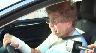 Elderly woman relives violent carjacking