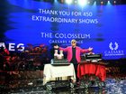 Elton John performs final show of residency