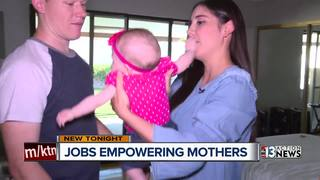 Las Vegas business owner works to empower moms