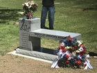 Monuments dedicated at Woodlawn Cemetery