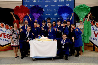 PHOTOS: Inaugural flight from Brazil to Vegas