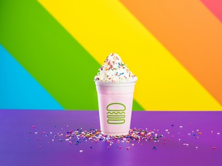 Shake Shack launches limited edition Pride Shake