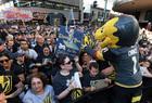 Vegas Golden Knights celebrate their fans
