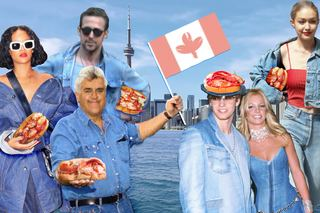Wear a Canadian tux for free lobster roll