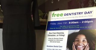 Nonprofit gives free dental services to women