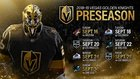 Vegas Golden Knights release preseason schedule